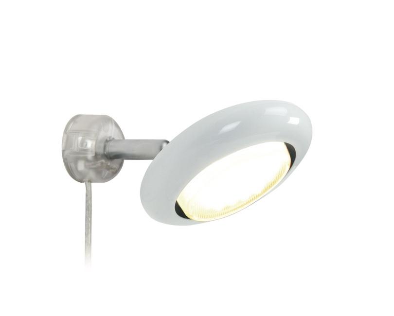Væglampe incl pærer. Hvid.