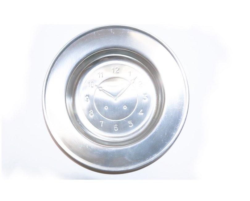 Baby tallerken, rustfrit stål, Ø 18-12 cm