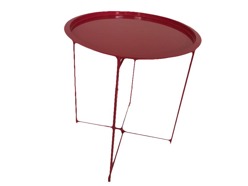 Bakkebord Mørk pink
