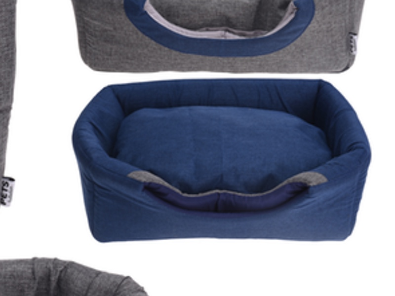 Hund:katte seng blå