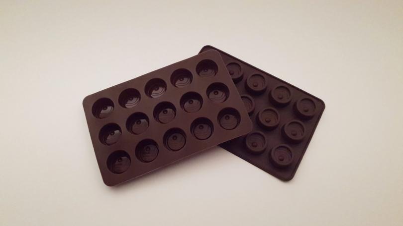 Silikoneform brun